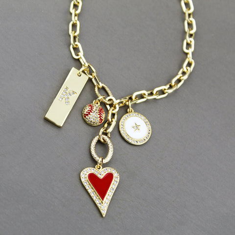 Syd Charm Pendant Statement Necklace