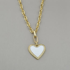 Maya Heart Necklace