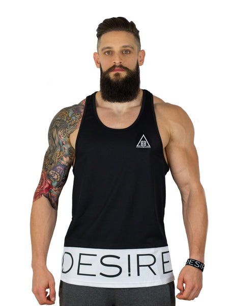 DESIRE Racer Back Basketball Jersey - Midnight/Optic