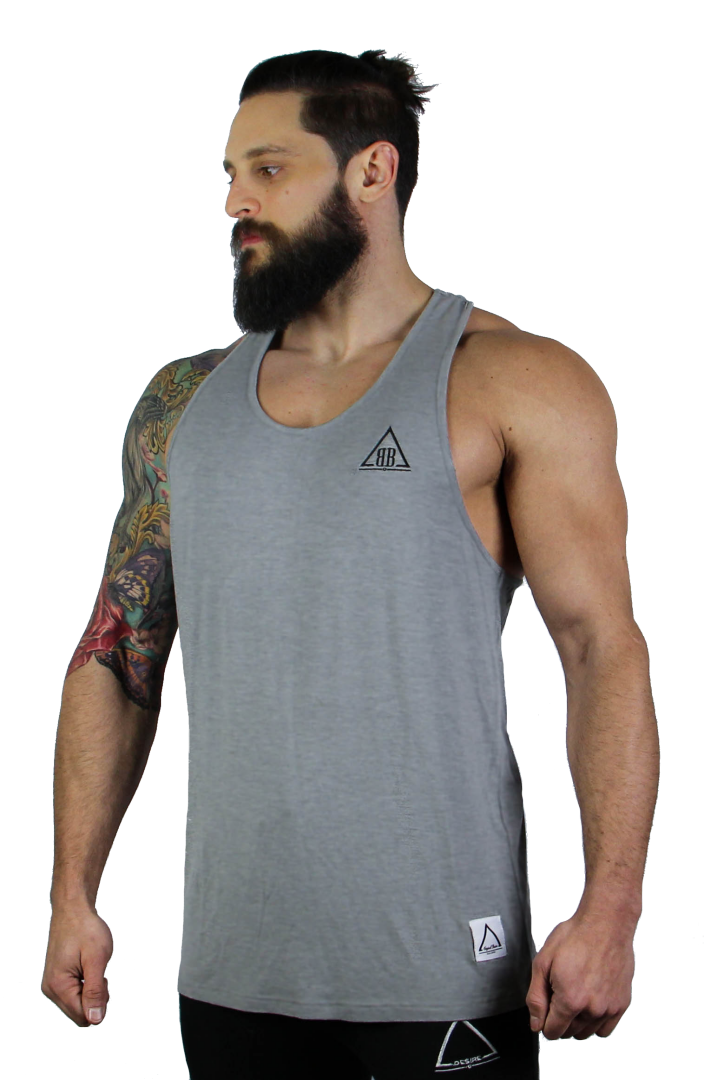 Ambition 'Like Silk' Racer Back - Grey