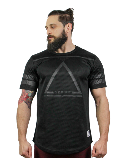Ambition Football Jersey - Black Out