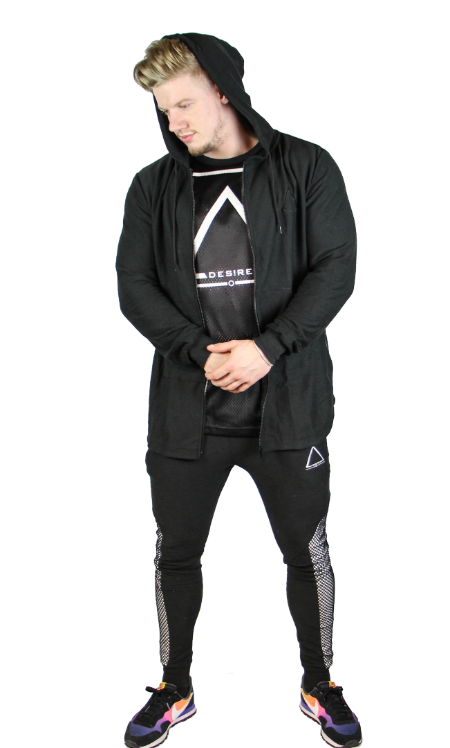 Ambition Triple Zipped Hoodie - Midnight