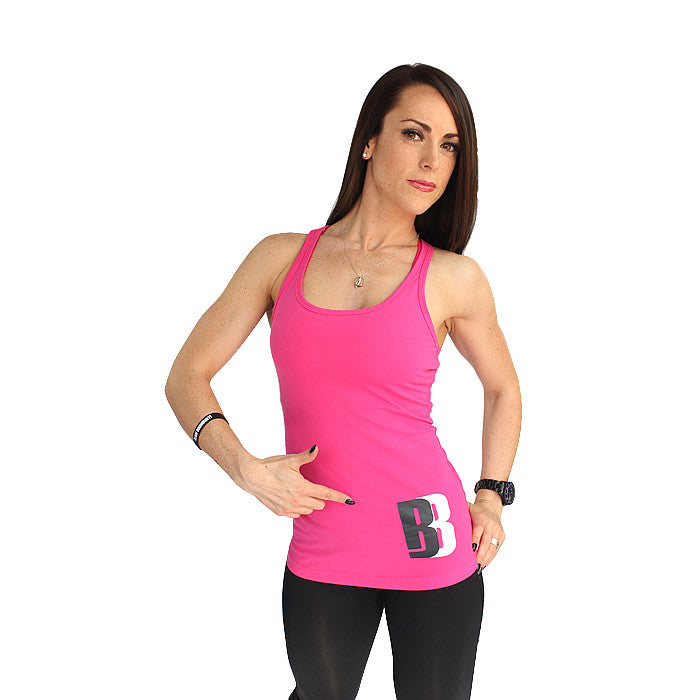 !BB Ladies Vest - Pink