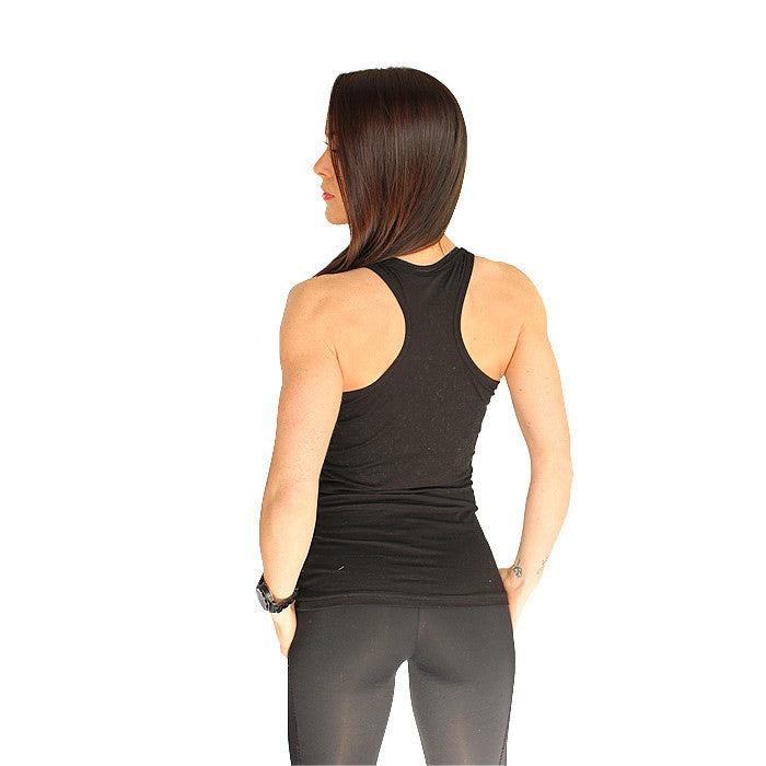 BOOMHeart! Ladies Vest - Black and Silver