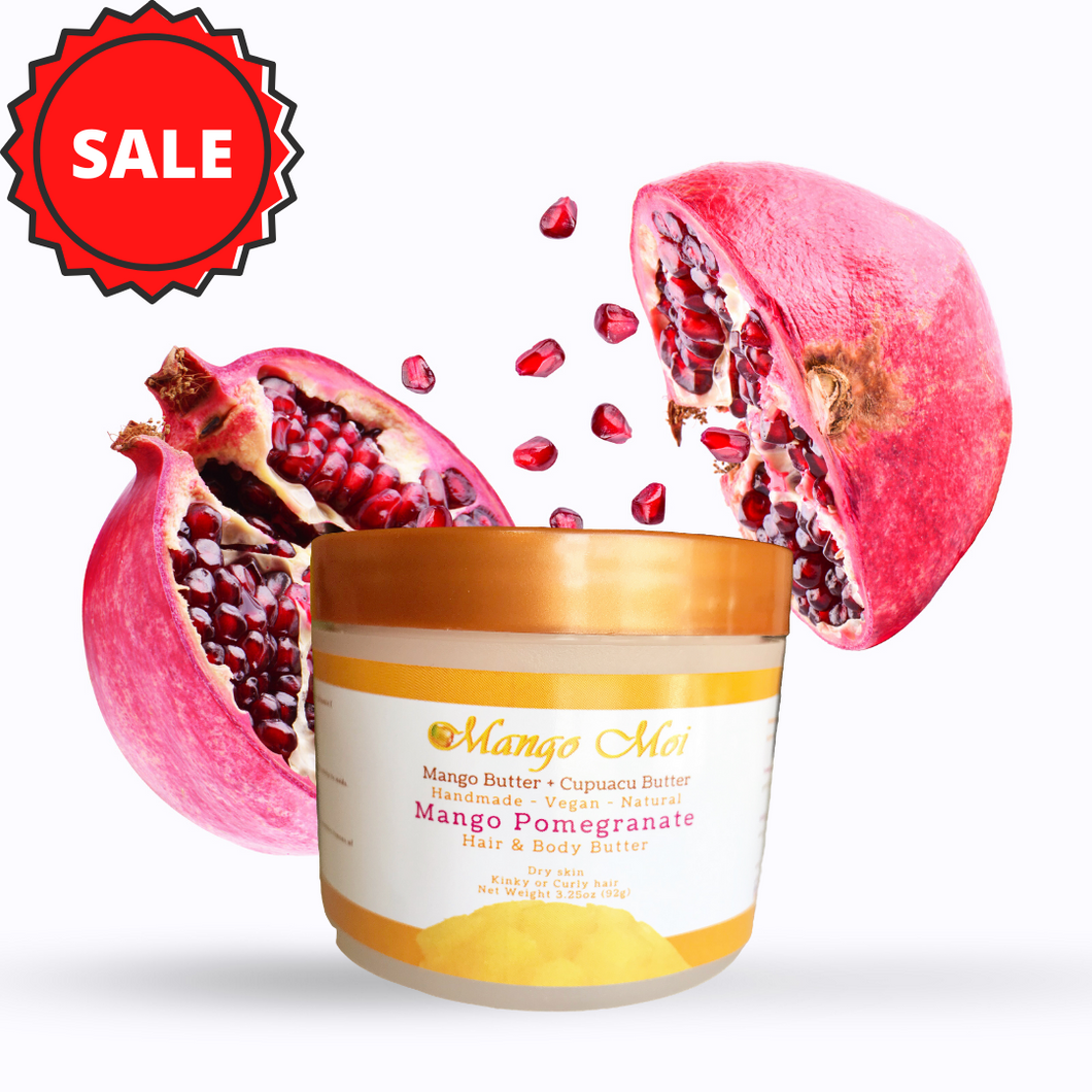 Mango Pomegranate Hair and Body Butter