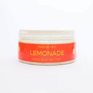 Open image in slideshow, LIMITED EDITION Lemonade Hair & Body Butter