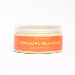 Open image in slideshow, Mango Pomegranate Hair & Body Butter