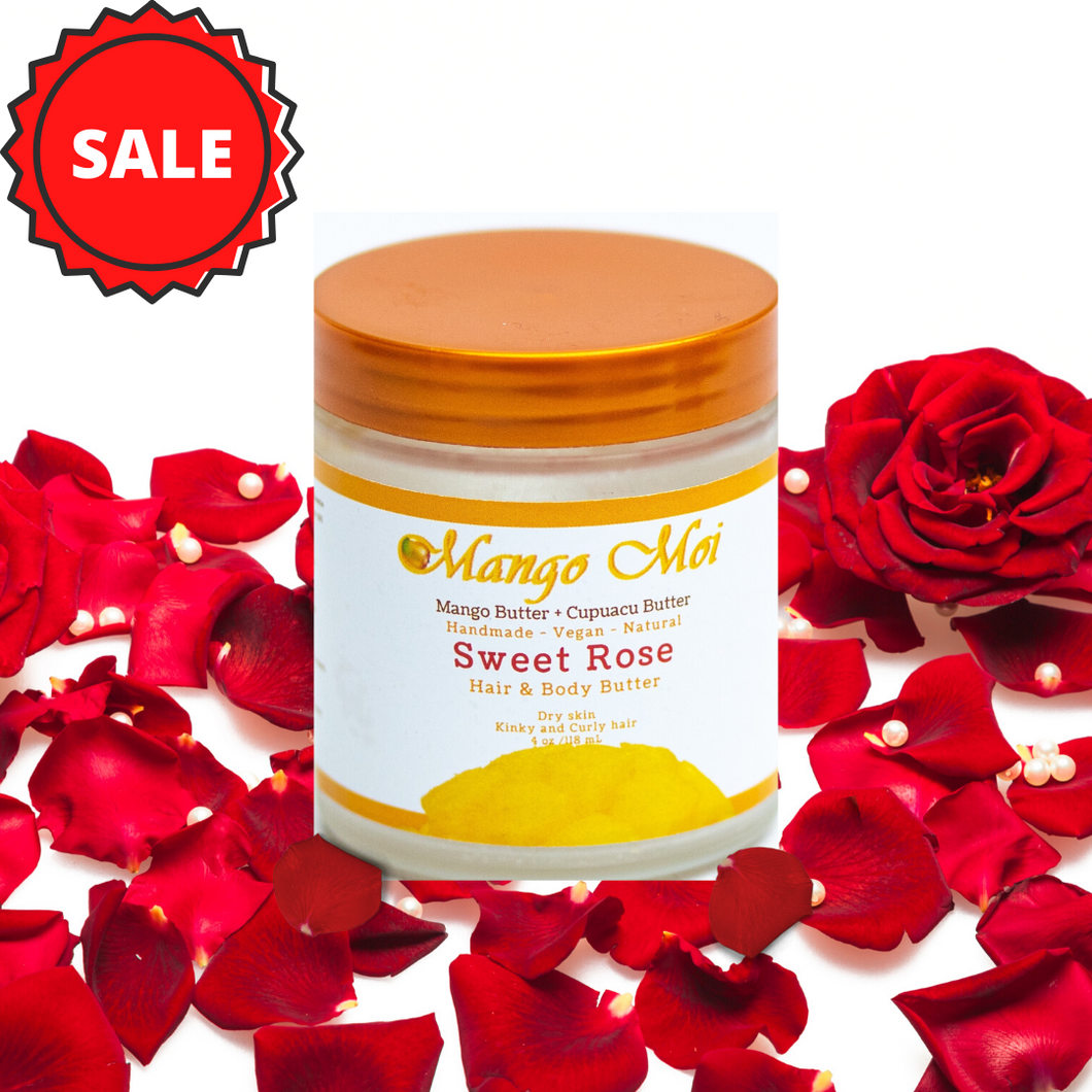Sweet Rose Hair & Body Butter