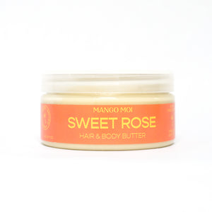 Open image in slideshow, Sweet Rose Hair & Body Butter