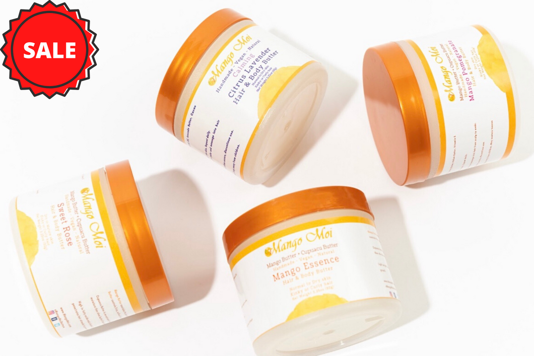 Triple Bundle - Hair and Body Butters