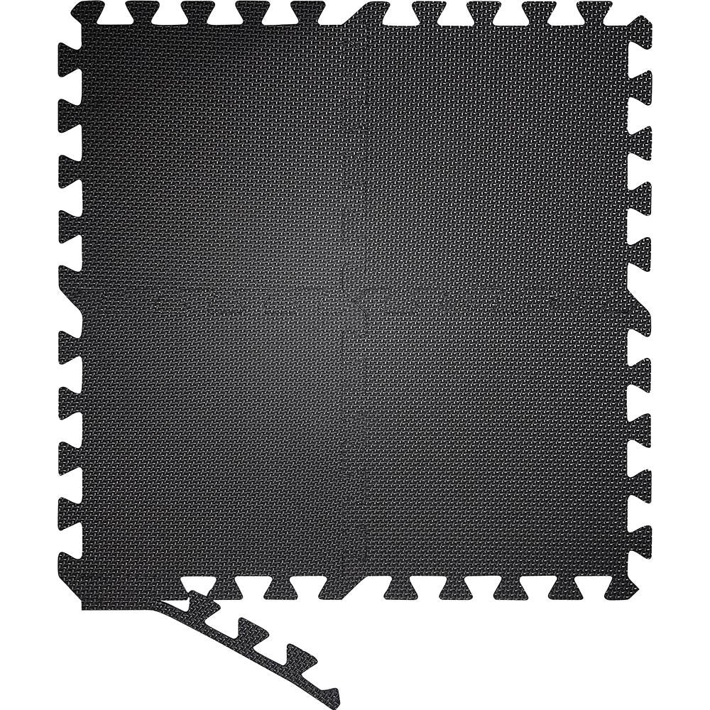 Black Interlocking Foam Mats