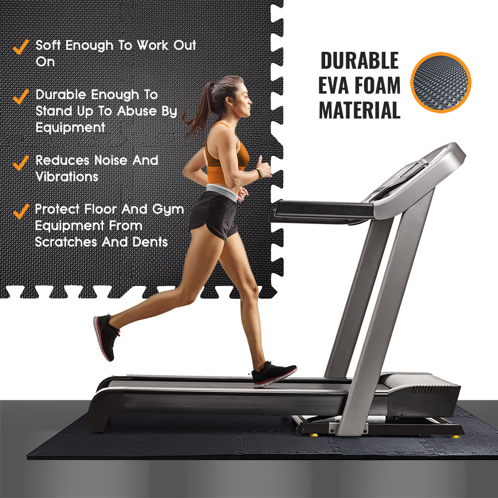 EVA Interlocking Foam Mats for Gym Flooring - Jigmats