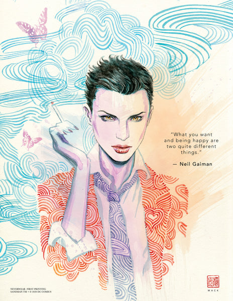 NEW DAVID MACK ENDLESS PORTRAITS: DESIRE & DELIRIUM