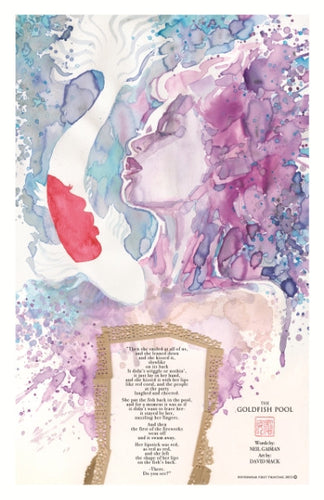 Goldfish Pool limited edition print by David Mack