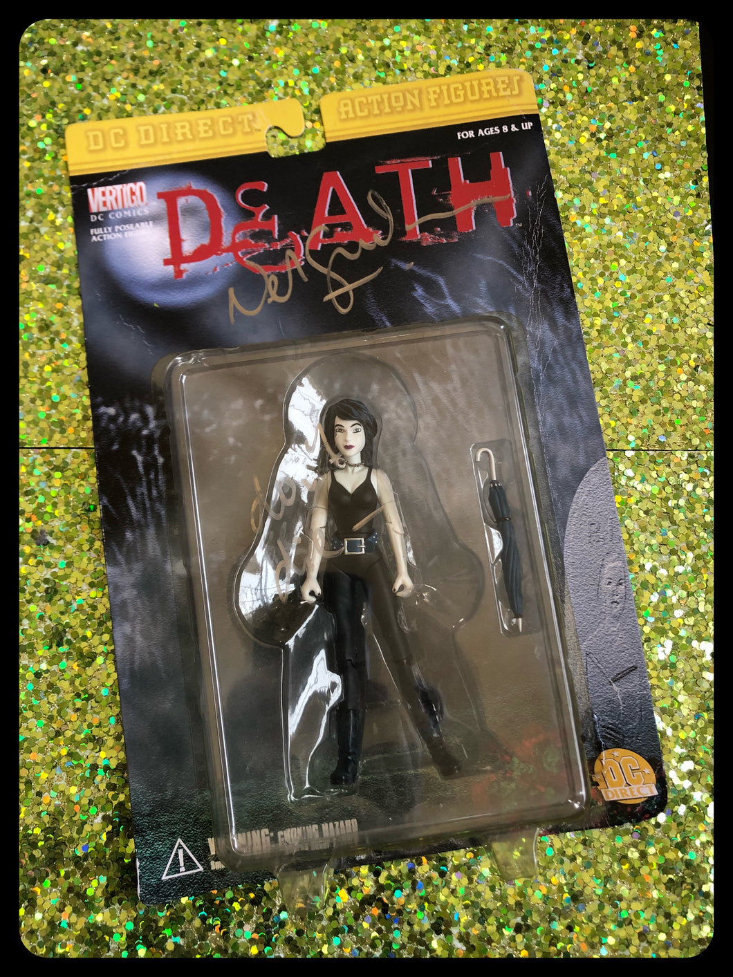 Signed by Neil DEATH action figure 1999
