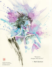 BRAND NEW!! David Mack paints Neil's Delirium and Desire.