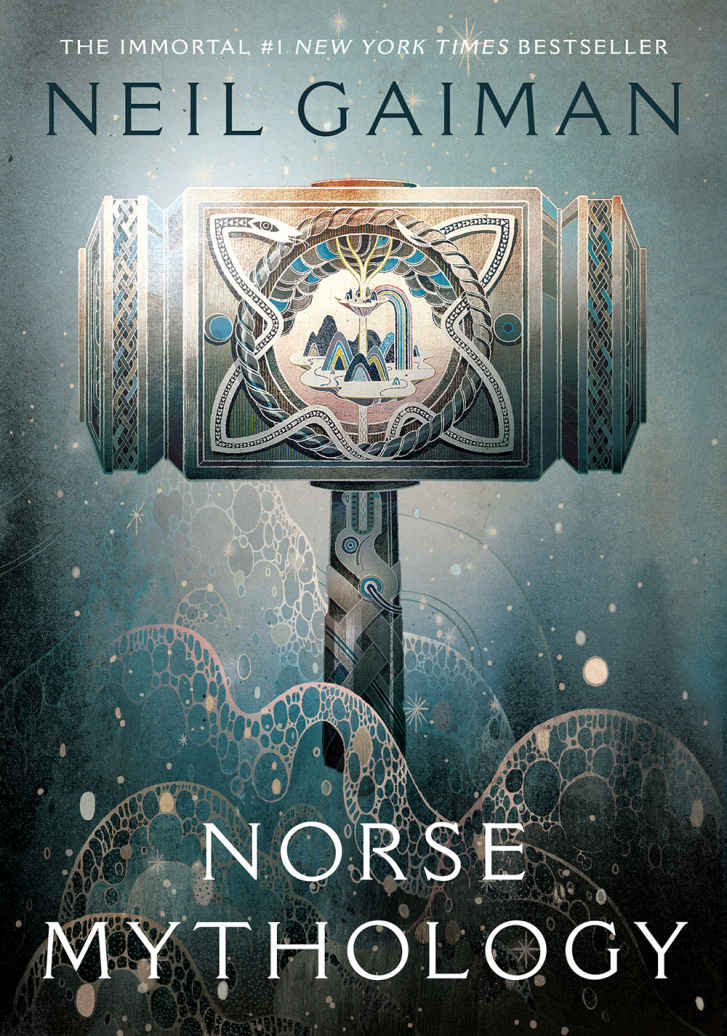 Signed copy of Norse Mythology!!