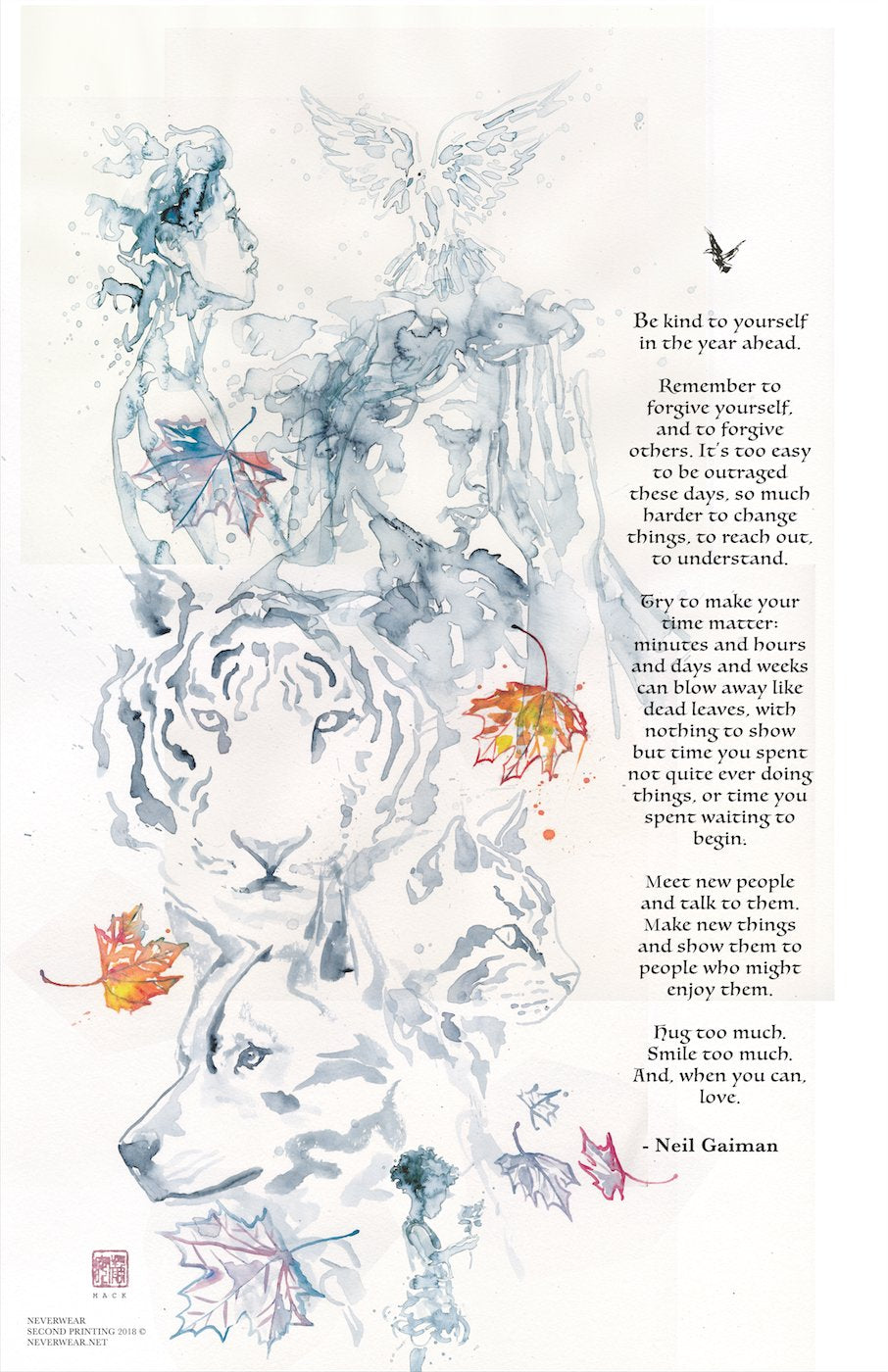 Neil's New Year Tiger Wish  illustrated by David Mack second printing
