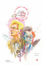 "SIGNED VERSIONS AVAILABLE!! Good Omens 11"" x 17"" David Mack LTD edition print"
