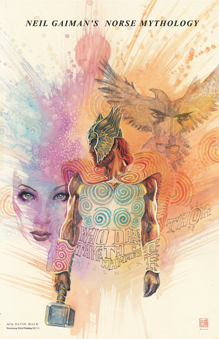 BRAND NEW!!! THOR! David Mack's new Norse Mythology cover
