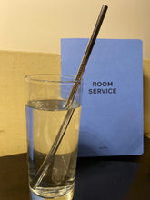 BRAND NEW: Engraved Metal Straws -set of four