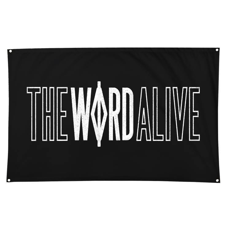 The Word Alive Logo Flag