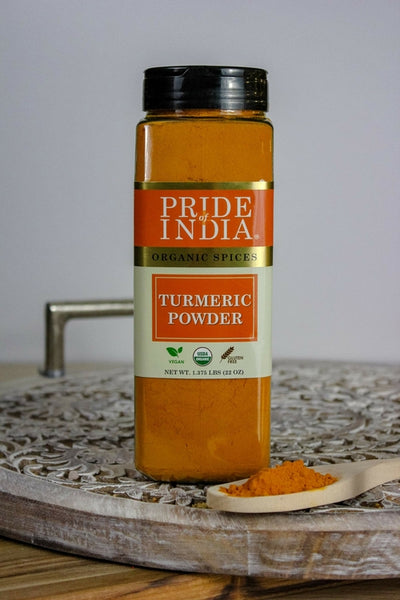 Organic Turmeric Ground (High 5-6% Curcumin)