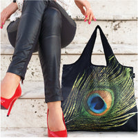 Reusable YaYbag JUMBO size - Peacock