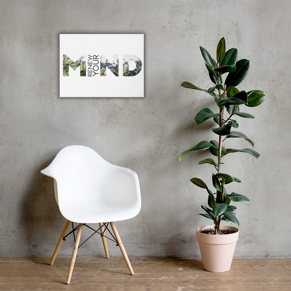 Renew Your Mind | Canvas