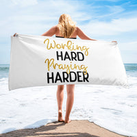 Working Hard Praying Hard | Towel