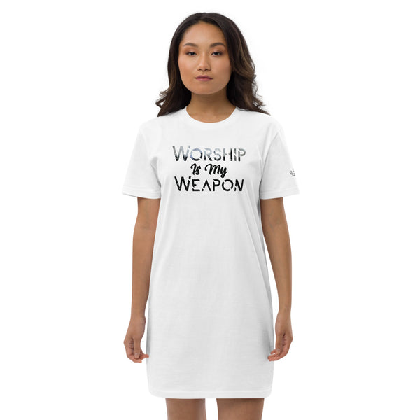 Worship is My Weapon | Organic Cotton Stanley/Stella T-shirt Dress