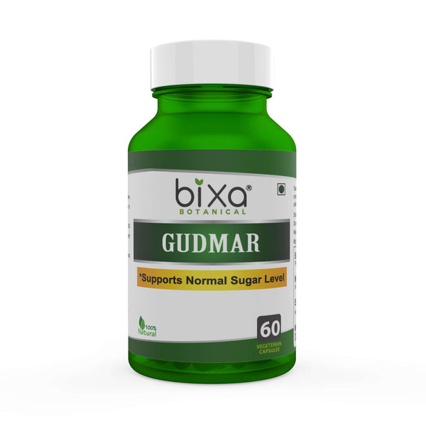 Gymnema / Gudmar Extract 60 Veg Capsules (450mg) 25% Gymnemic acids