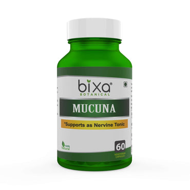 Mucuna / Kaunch beej Extract 60 Veg Capsules (450mg) 15% L-Dopa by HPLC