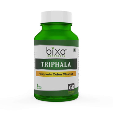 Triphala Extract 60 Veg Capsules (450mg) 40% Tannins