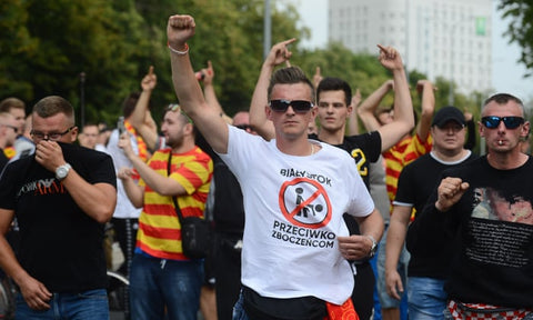 anti lgbt zones poland protest
