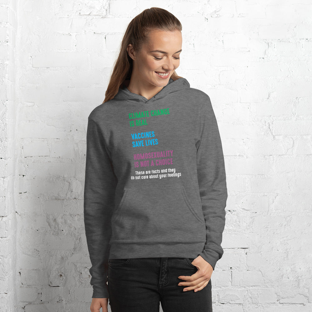 Three Facts Premium Unisex Hoodie