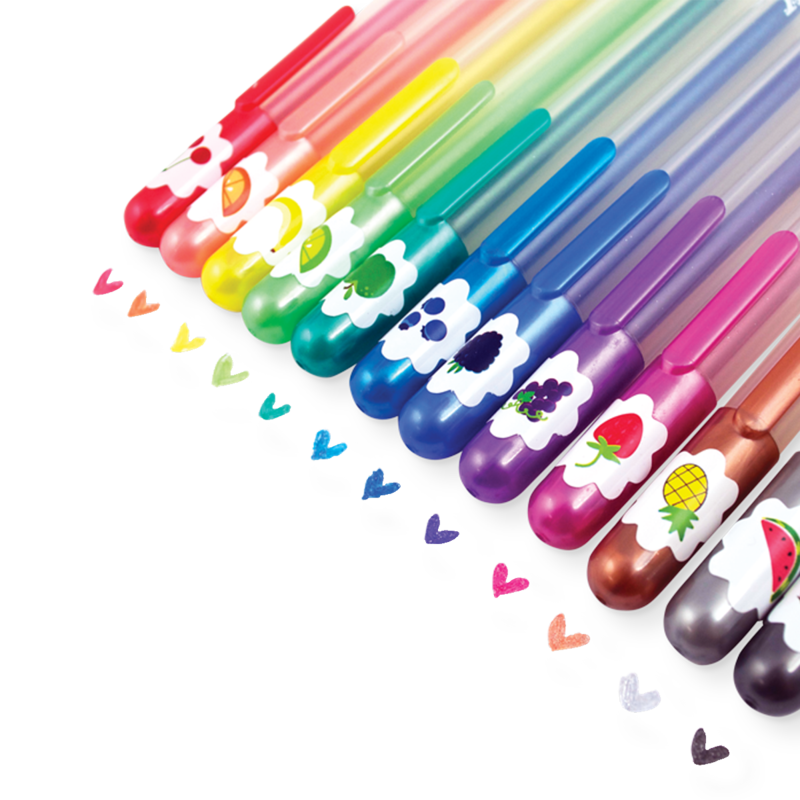 Ooly Yummy Yummy Gel Pens 2.0 (set of 12)