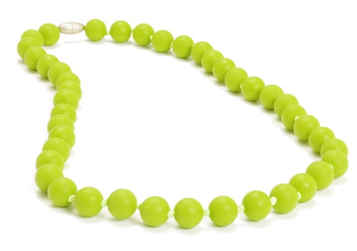 Chewbeads Jane Necklace ~ Chartreuse