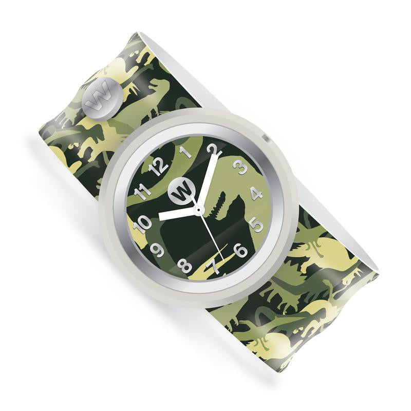 Watchitude Slap Watch ~ Dino Camo