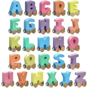 Name Train Letters - Pastel (Online)