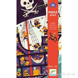 Djeco Pirate Ship Giant Floor Puzzle