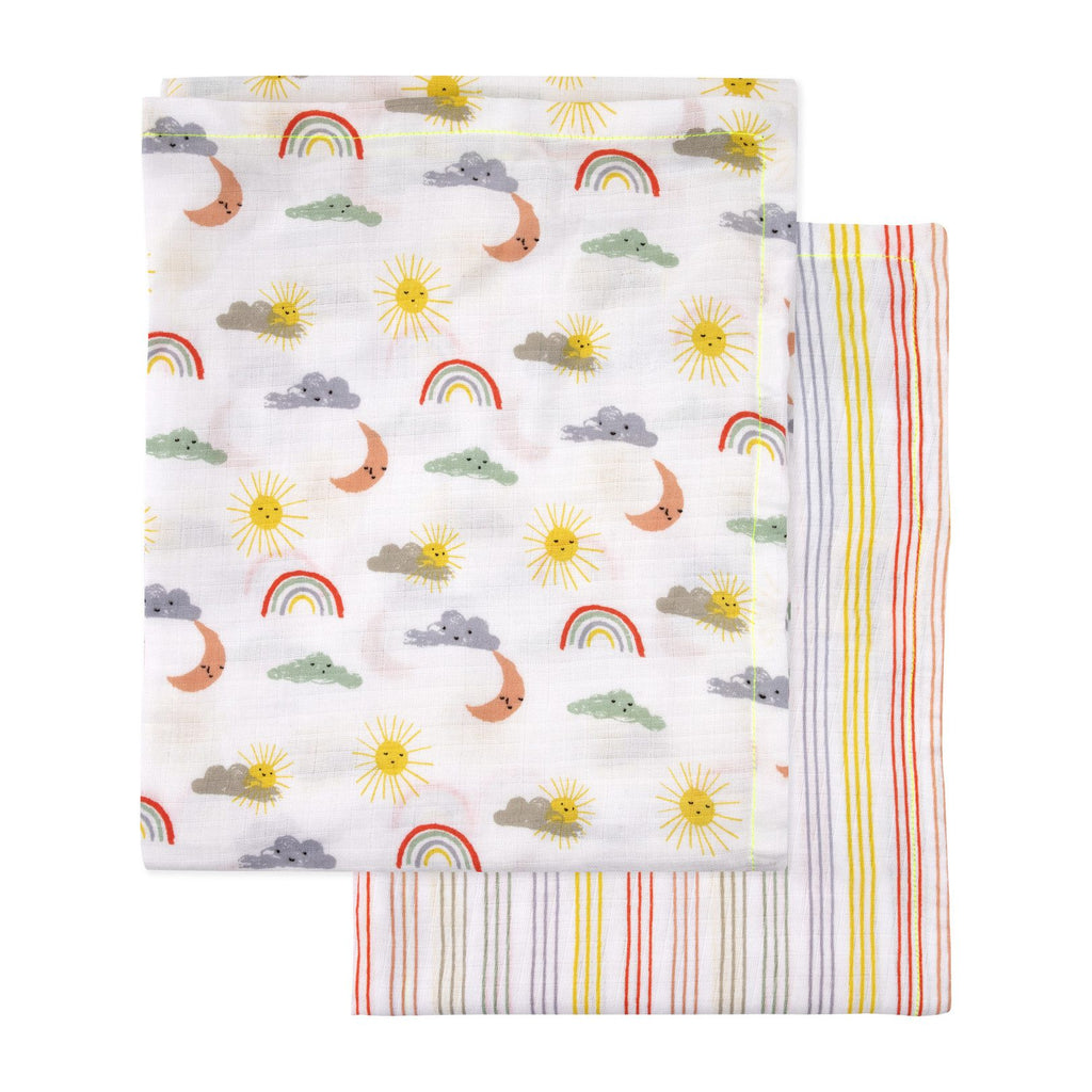 Meri Meri Happy Weather Swaddle Baby blanket