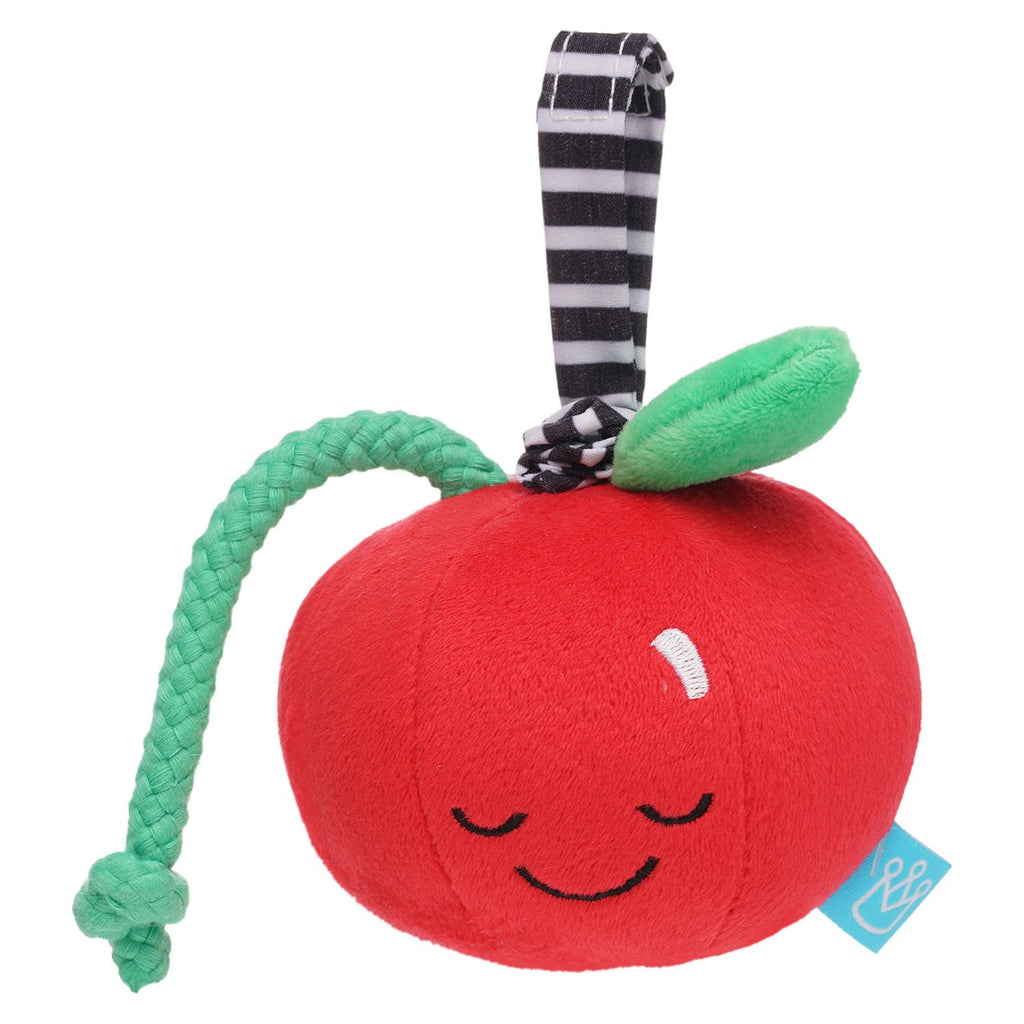 Manhattan Toy Mini-Apple Farm Cherry Pull Musical Take Along