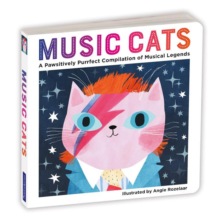 Chronicle Music Cats Board Book