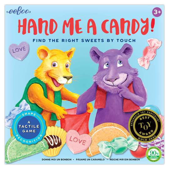 Eeboo Hand Me the Candy Game