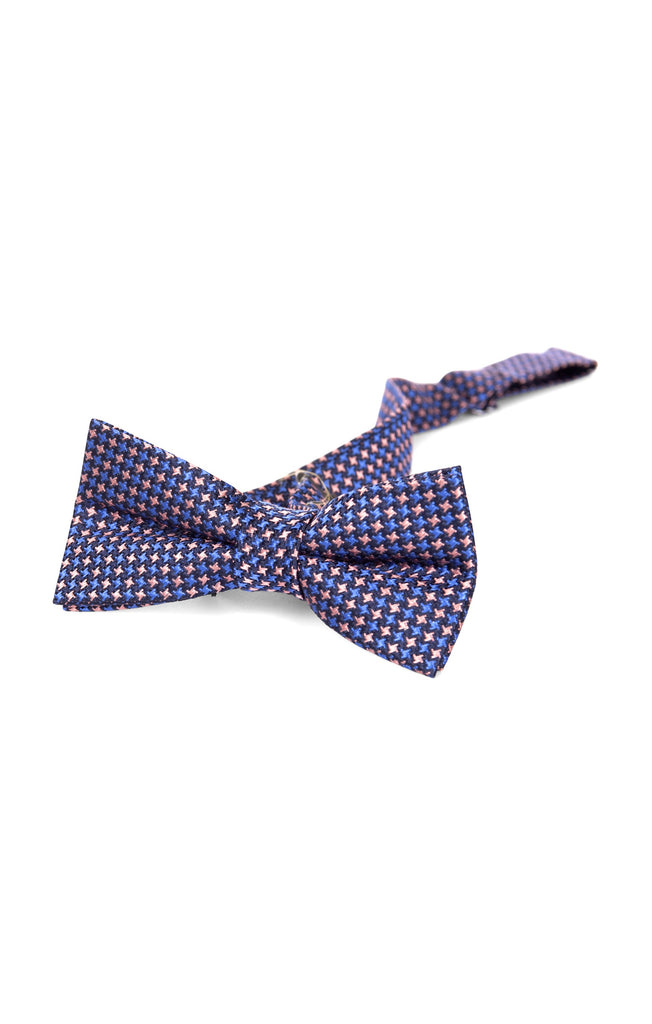 Appaman Bow Tie Pink/Blue Puppytooth