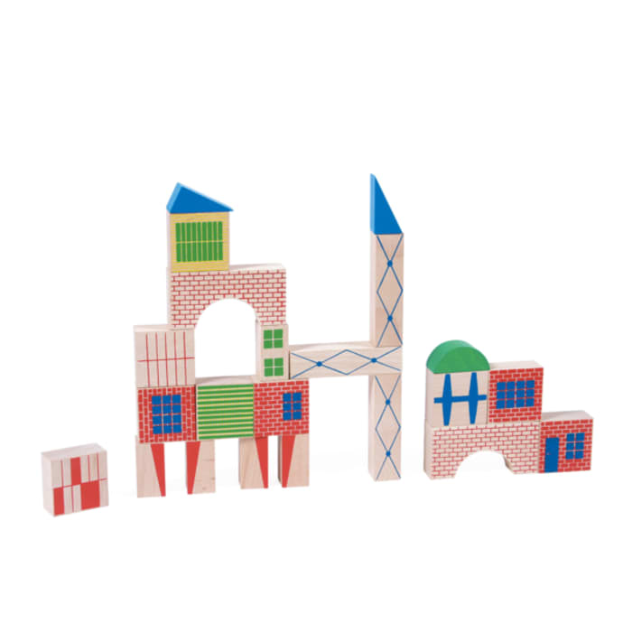 Moulin roty Building Blocks 40pc