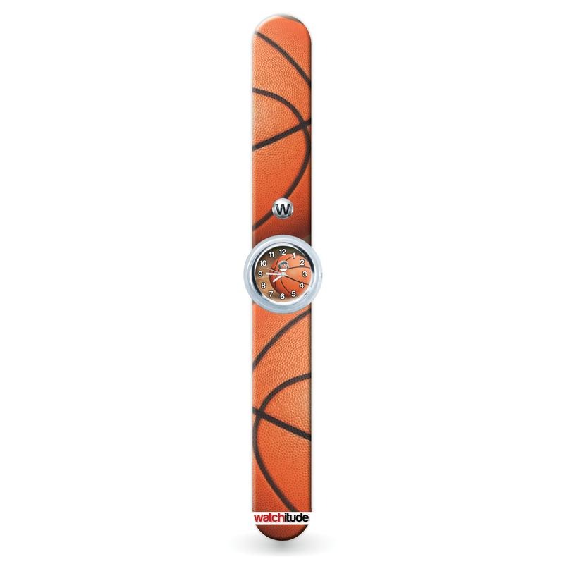 Watchitude Slap Watch ~  Basketball