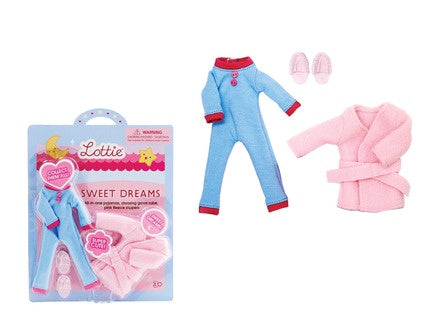 Schylling Sweet Dreams lottie accessory kit