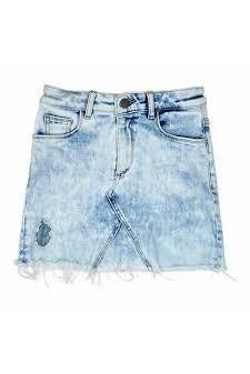 DL Denim Jenny Skirt 2-6g ~ Venice Beach